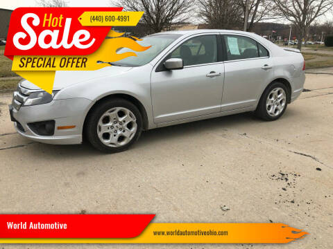 2010 Ford Fusion for sale at World Automotive in Euclid OH