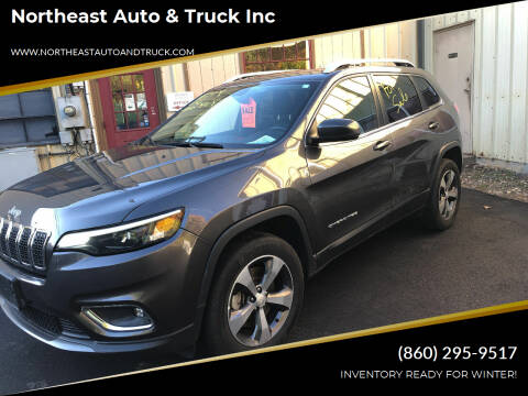 2019 Jeep Cherokee for sale at Northeast Auto & Truck Inc in Marlborough CT