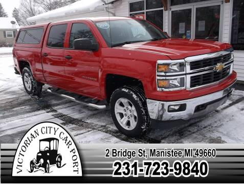 2014 Chevrolet Silverado 1500 for sale at Victorian City Car Port INC in Manistee MI