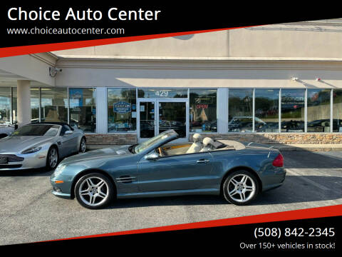 2006 Mercedes-Benz SL-Class for sale at Choice Auto Center in Shrewsbury MA