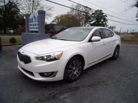 2014 Kia Cadenza for sale at Good To Go Auto Sales in Mcdonough GA