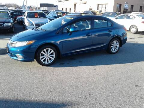 2012 Honda Civic for sale at Nelsons Auto Specialists in New Bedford MA