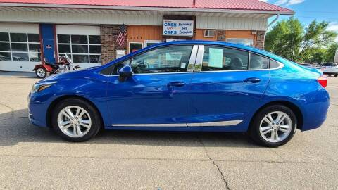 2017 Chevrolet Cruze for sale at Twin City Motors in Grand Forks ND