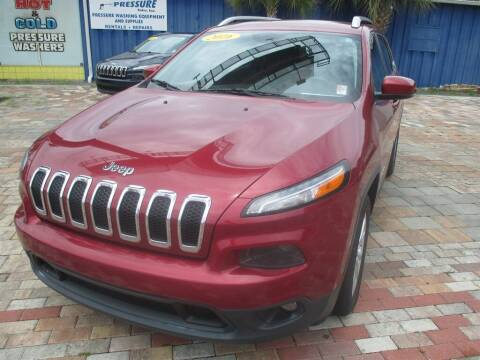 2016 Jeep Cherokee for sale at Affordable Auto Motors in Jacksonville FL