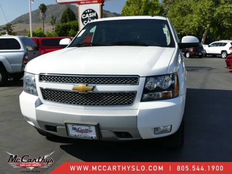 2013 Chevrolet Tahoe for sale at McCarthy Wholesale in San Luis Obispo CA