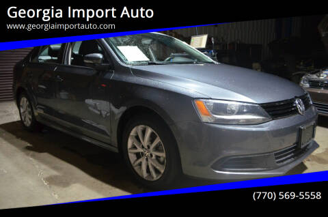 2012 Volkswagen Jetta for sale at Georgia Import Auto in Alpharetta GA