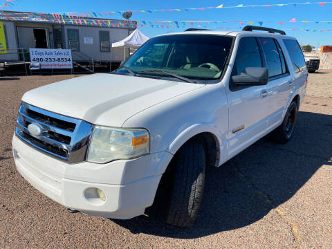 2008 Ford Expedition for sale at 3 Guys Auto Sales LLC in Phoenix AZ