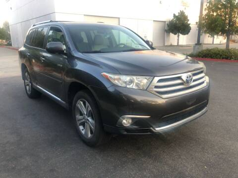 2012 Toyota Highlander for sale at Faith Auto Sales in Temecula CA