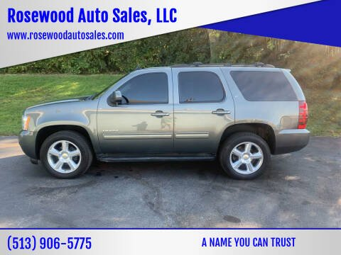 2011 Chevrolet Tahoe for sale at Rosewood Auto Sales, LLC in Hamilton OH