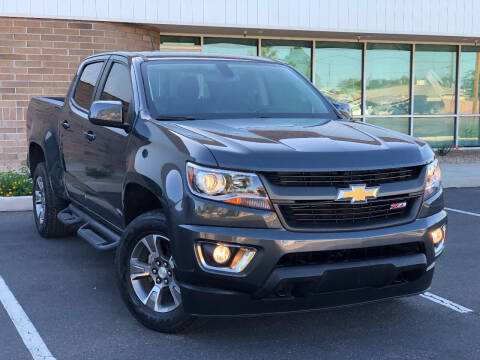 2017 Chevrolet Colorado for sale at AKOI Motors in Tempe AZ