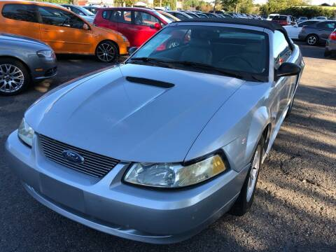 2002 Ford Mustang for sale at Atlantic Auto Sales in Garner NC