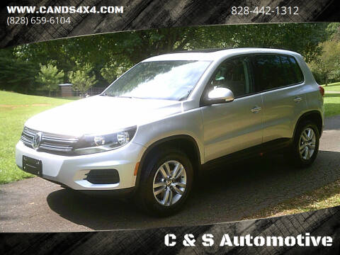 2012 Volkswagen Tiguan for sale at C & S Automotive in Nebo NC