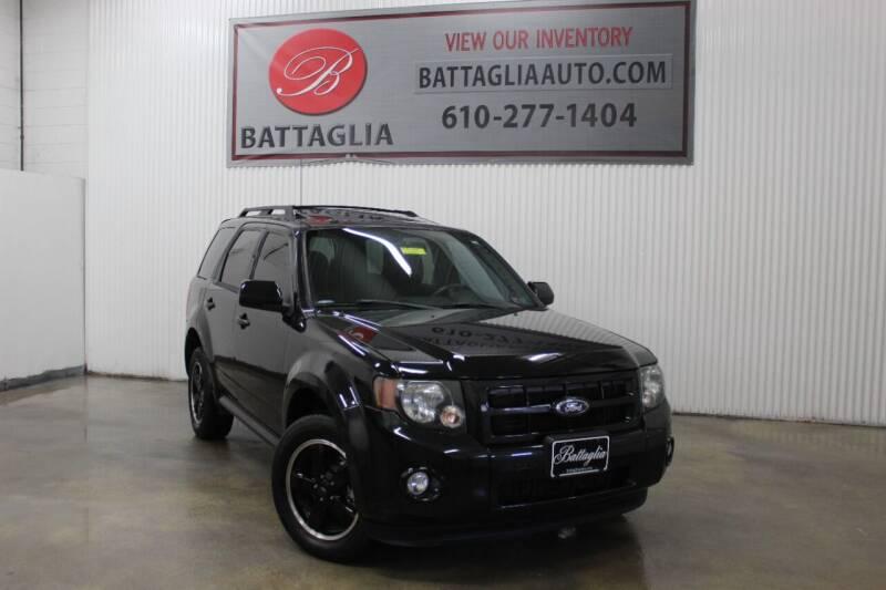 2011 Ford Escape for sale at Battaglia Auto Sales in Plymouth Meeting PA