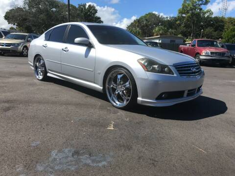 2007 Infiniti M45 for sale at AutoVenture in Holly Hill FL
