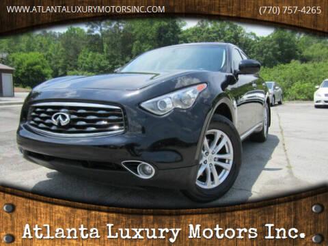2014 Infiniti QX70 for sale at Atlanta Luxury Motors Inc. in Buford GA