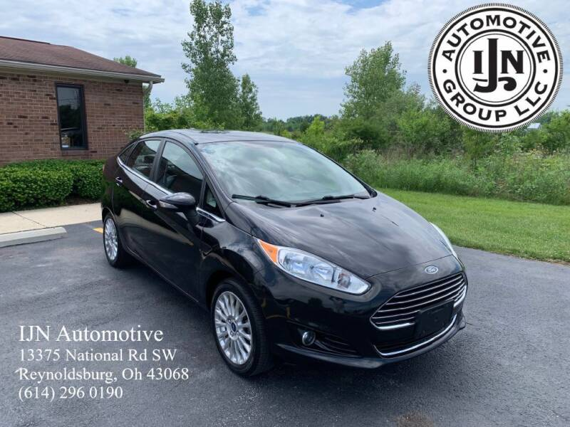2014 Ford Fiesta for sale at IJN Automotive Group LLC in Reynoldsburg OH