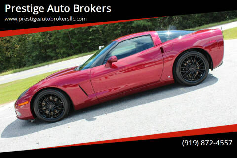 2007 Chevrolet Corvette for sale at Prestige Auto Brokers in Raleigh NC