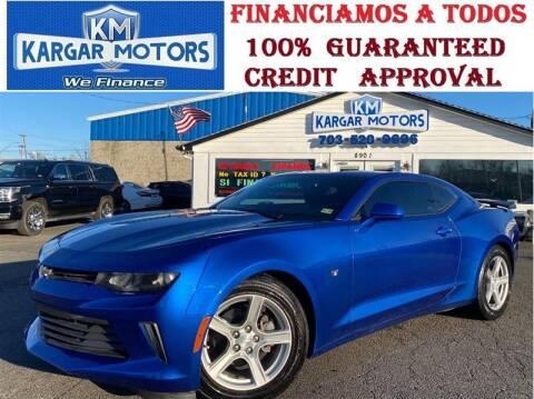 2016 Chevrolet Camaro for sale at Kargar Motors of Manassas in Manassas VA