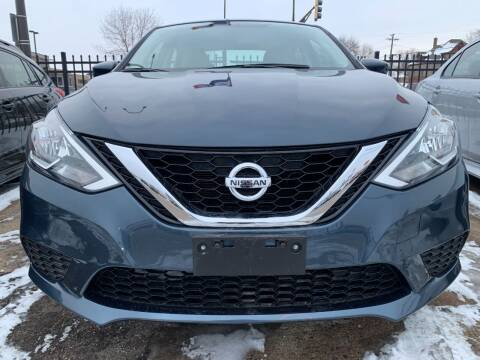 2016 Nissan Sentra for sale at Minuteman Auto Sales in Saint Paul MN