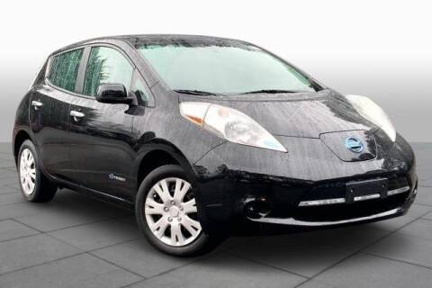 2015 Nissan LEAF for sale at CU Carfinders in Norcross GA