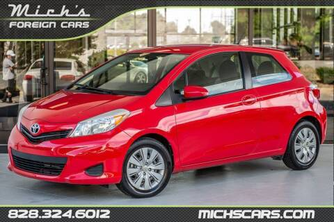 2013 Toyota Yaris for sale at Mich's Foreign Cars in Hickory NC