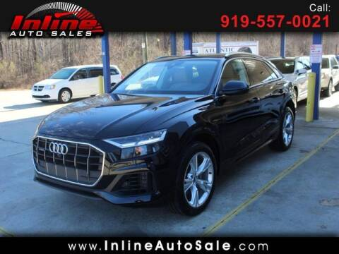 2019 Audi Q8 for sale at Inline Auto Sales in Fuquay Varina NC