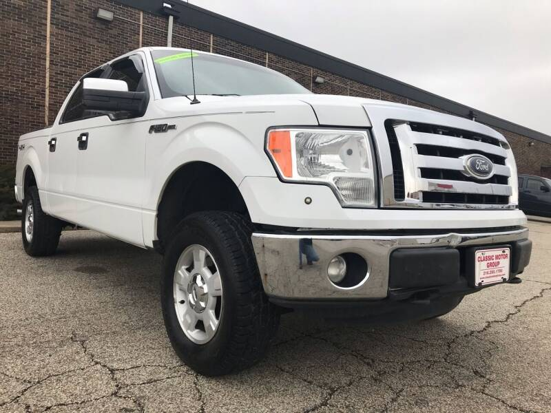 2011 Ford F-150 for sale at Classic Motor Group in Cleveland OH