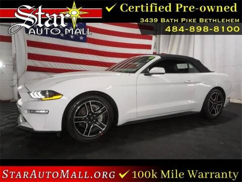 2021 Ford Mustang for sale at STAR AUTO MALL 512 in Bethlehem PA