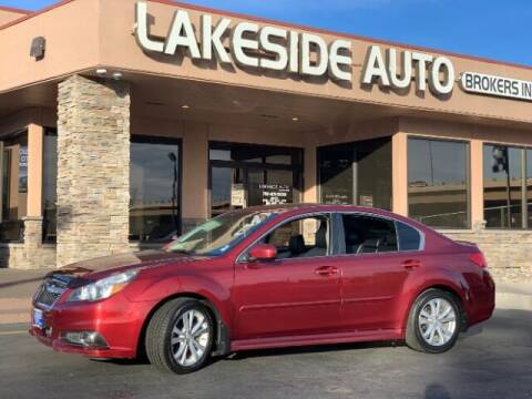 2013 Subaru Legacy for sale at Lakeside Auto Brokers Inc. in Colorado Springs CO