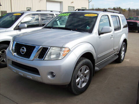 2008 Nissan Pathfinder for sale at Summit Auto Inc in Waterford PA