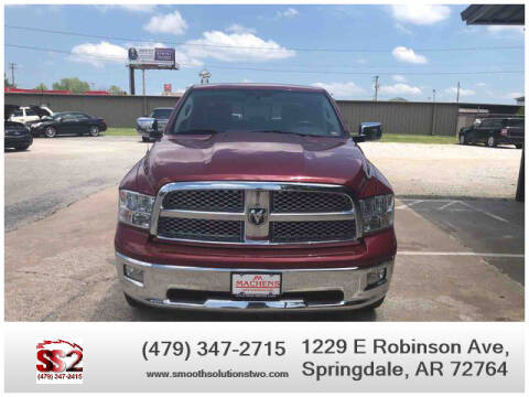 2012 RAM Ram Pickup 1500 for sale at Smooth Solutions 2 LLC in Springdale AR
