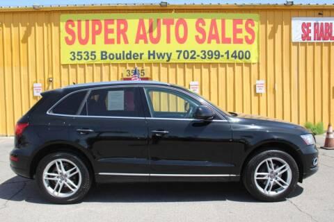 2015 Audi Q5 for sale at Super Auto Sales in Las Vegas NV