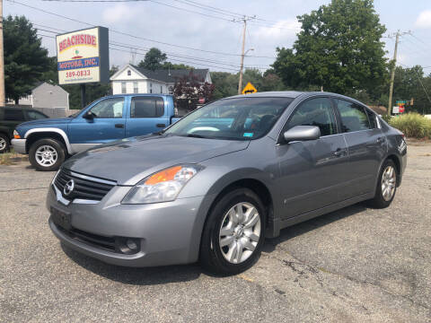 2009 Nissan Altima for sale at Beachside Motors, Inc. in Ludlow MA