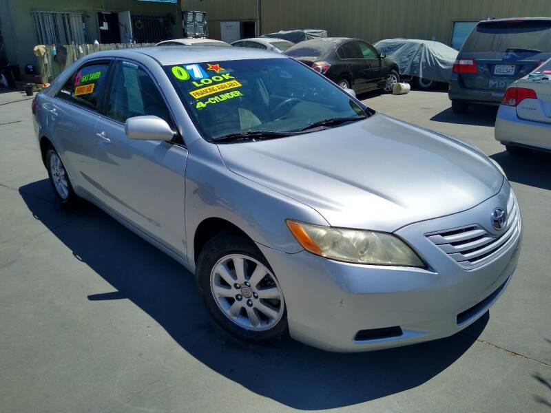 2007 Toyota Camry for sale at Affordable Auto Finance in Modesto CA