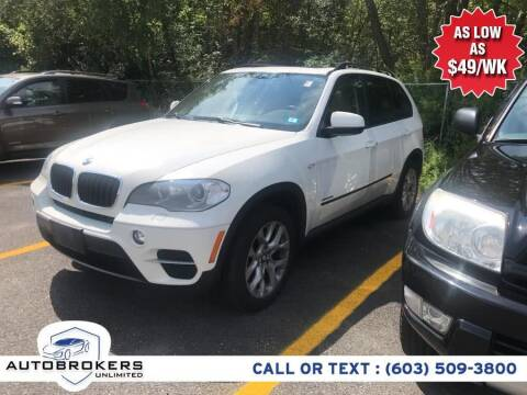 2012 BMW X5 for sale at Auto Brokers Unlimited in Derry NH