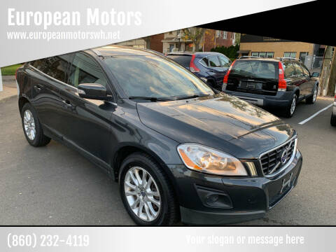 2010 Volvo XC60 for sale at European Motors in West Hartford CT