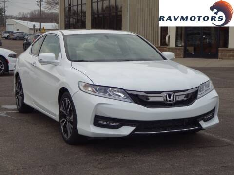 2016 Honda Accord for sale at RAVMOTORS 2 in Crystal MN