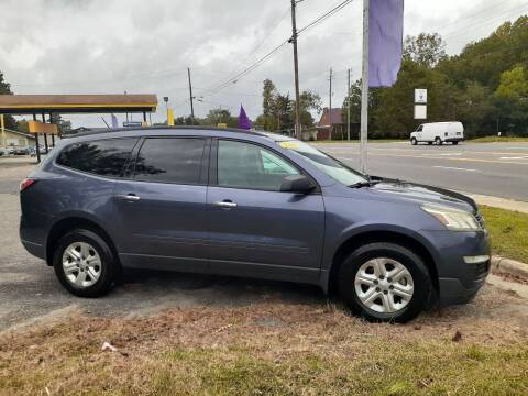 2014 Chevrolet Traverse for sale at PIRATE AUTO SALES in Greenville NC