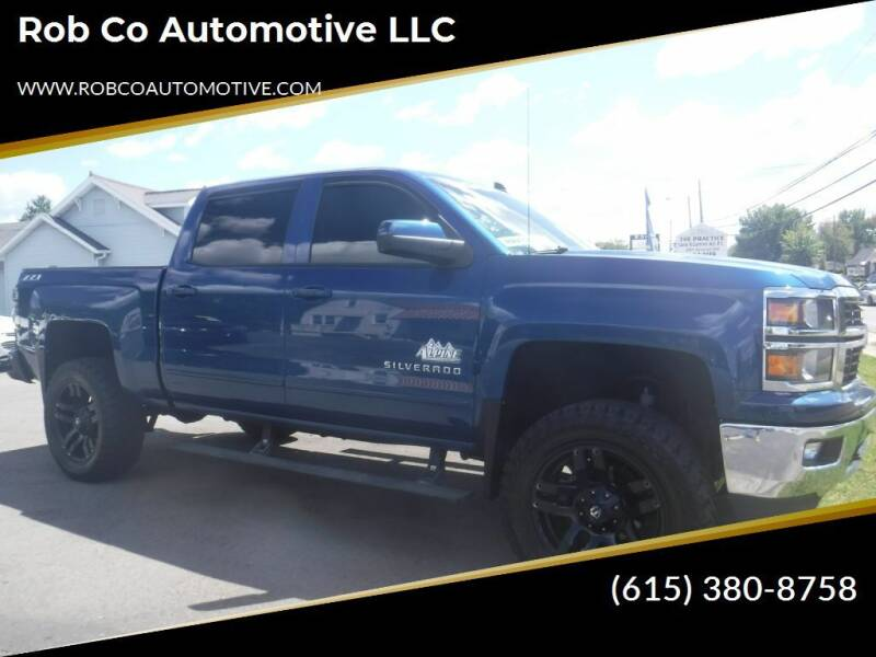 2015 Chevrolet Silverado 1500 for sale at Rob Co Automotive LLC in Springfield TN