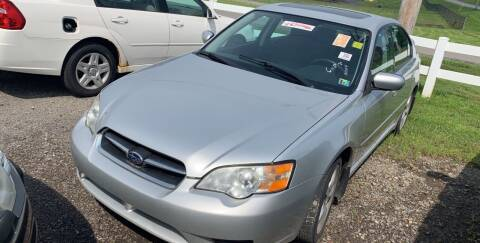 2007 Subaru Legacy for sale at Trocci's Auto Sales in West Pittsburg PA