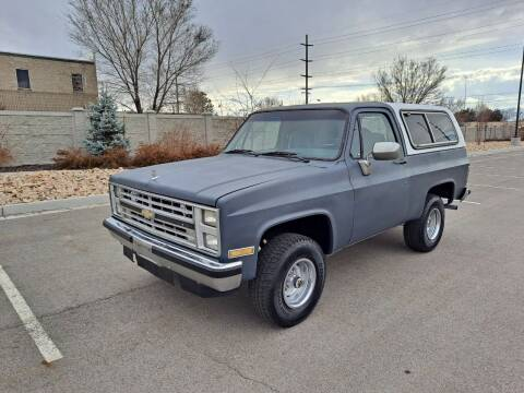 1985 Chevrolet Blazer for sale at ALL ACCESS AUTO in Murray UT