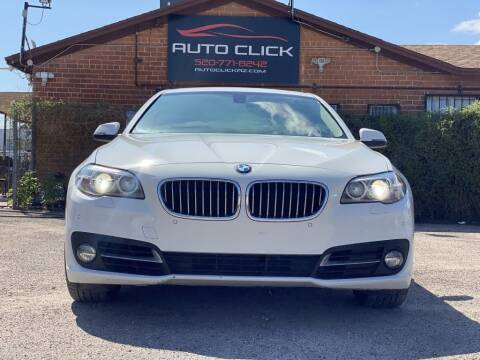 2015 BMW 5 Series for sale at Auto Click in Tucson AZ