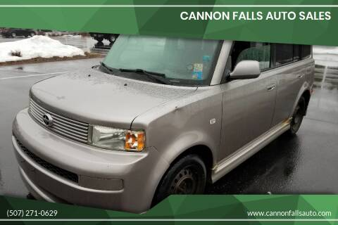 2006 Scion xB for sale at Cannon Falls Auto Sales in Cannon Falls MN