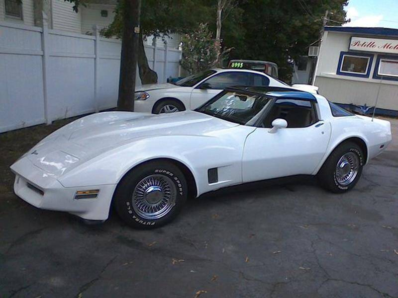 1981 Chevrolet Corvette for sale at Petillo Motors in Old Forge PA