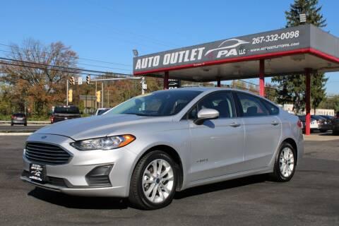 2019 Ford Fusion Hybrid for sale at Deals N Wheels 306 in Burlington NJ