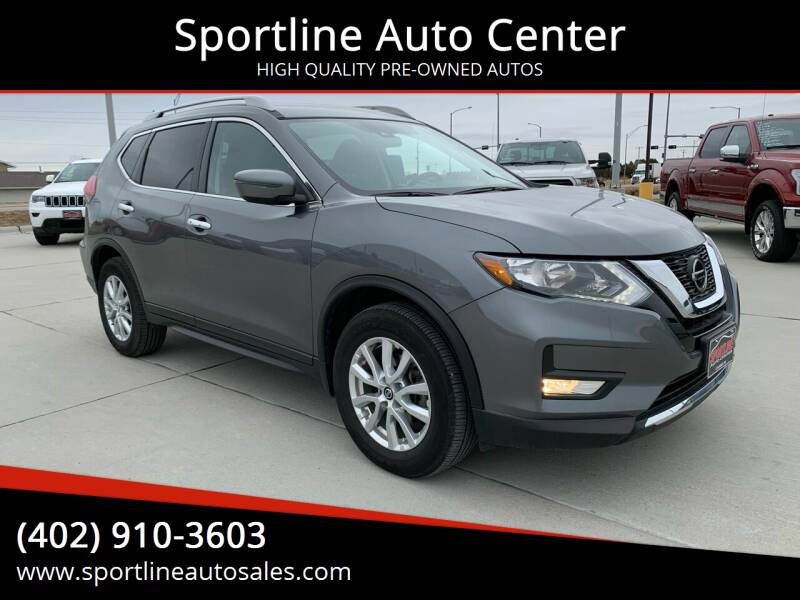2019 Nissan Rogue for sale at Sportline Auto Center in Columbus NE