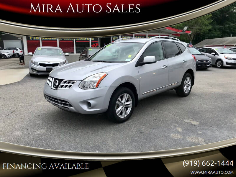 2012 Nissan Rogue for sale at Mira Auto Sales in Raleigh NC