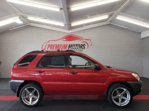 2008 Kia Sportage for sale at Premium Motors in Villa Park IL
