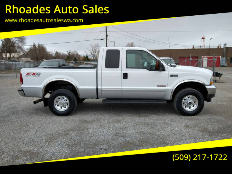 2003 Ford F-250 Super Duty for sale at Rhoades Auto Sales in Spokane Valley WA