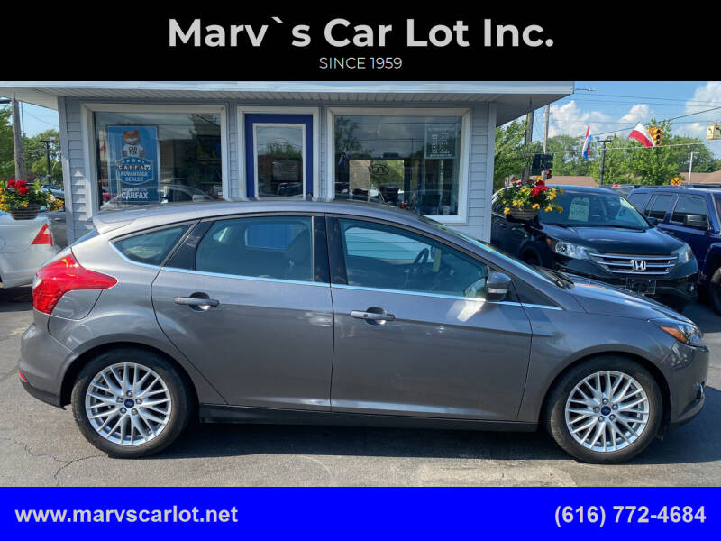 2014 Ford Focus for sale at Marv`s Car Lot Inc. in Zeeland MI